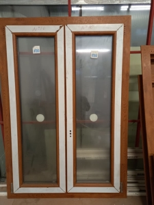 FINESTRA PVC 2ANTE DX ROVERE GOL, L94 X H140, €348,63