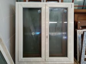 FINESTRA PVC DX BIANCO LISCIO, L119XH131. €200,00 POSA E TRASPORTO ESCLUSI