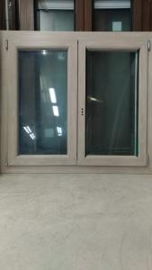 FINESTRA PVC DX ROVERE SBIANCATO, L119,5XH109. €249,00 POSA E TRASPORTO ESCLUSI