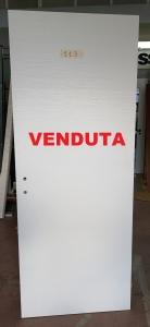 ANTA BATTENTE SX BIANCO MATRIX 80X210 €25.00 VENDUTA